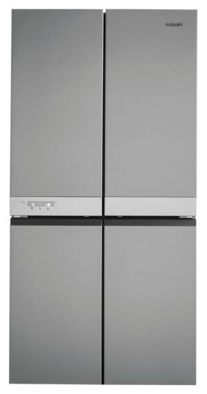 Hotpoint HQ9B1L American Fridge Freezer - Inox