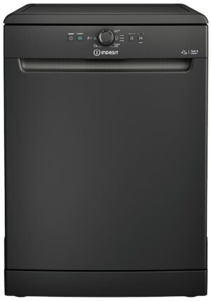 Indesit DFE1B19BUK Full Size Dishwasher - Black