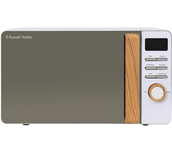 RUSSELL HOBBS Scandi RHMD714 Compact Solo Microwave - White, White