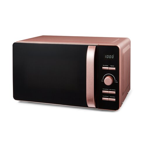 20 L 800W Countertop Microwave Tower Colour/Finish: Pink
