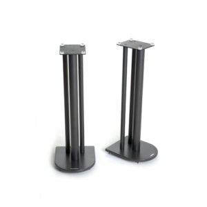 60cm Fixed Height Speaker Stand Symple Stuff Colour: Black