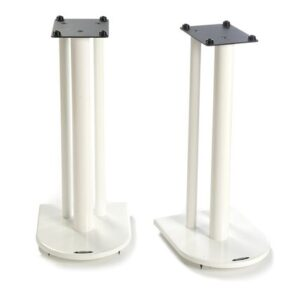 60cm Fixed Height Speaker Stand Symple Stuff Finish: Diamond White