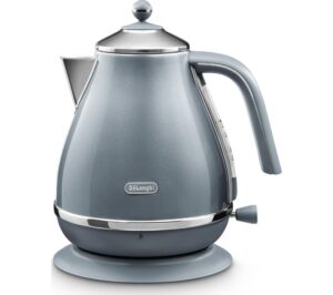DELONGHI Icona Metallics KBOT3001.AZ Jug Kettle - Blue, Blue