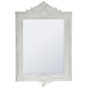 DeVry 103cm Wall Mirror Astoria Grand Finish: White