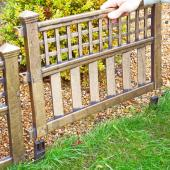 Fence Panels (Pack of 4) - Bronze