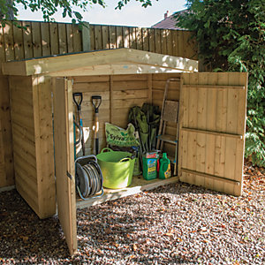 Forest Garden 6 x 3 ft Apex Large Outdoor Store