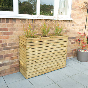 Forest Garden Linear Tall Planter - 900mm x 1.2