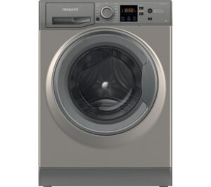 HOTPOINT Coreu0026tradeNSWR 843C GK UK 8 kg 1400 Spin Washing Machine - Graphite, Graphite