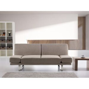 Kent 4 Seater Clic Clac Sofa Bed Home & Haus Upholstery Colour: Brown