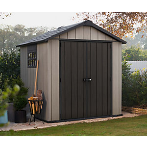 Keter Oakland Plastic Shed 7 x 7 ft