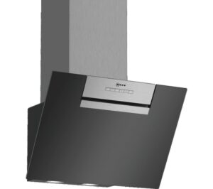NEFF N30 D65IEE1S0B Chimney Cooker Hood - Black, Black