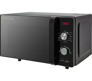 RUSSELL HOBBS RHFM2001B Compact Solo Microwave - Black, Black