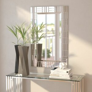 Rectangle Wall Mirror Canora Grey