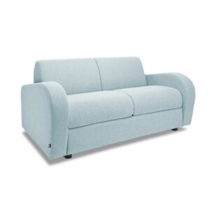 Retro 2 Seater Sofa Bed Jay-Be Colour: Duck Egg