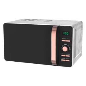 Rosegold 20L 800W Countertop Microwave Tower