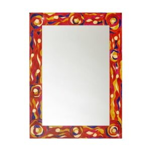 Wall Mirror Kolarz Finish: Red