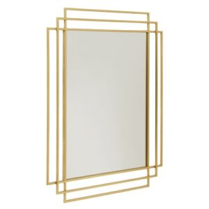 Wall Mirror Nordal Finish: Gold