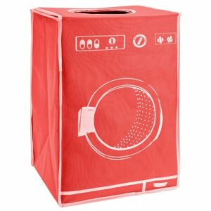 Washing Machine Pop Up Laundry Hamper Symple Stuff Colour: Red