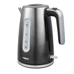 1.7L Stainless Steel Electric Kettle Tower Colour: Graphite