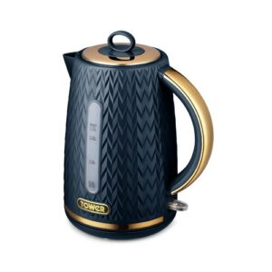 1.7L Stainless Steel Electric Kettle Tower Colour: Midnight Blue