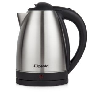 1.8 L Stainless Steel Electric Kettle Elgento Colour: Brushed Steel