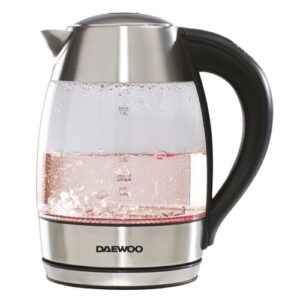 1.8L Glass Electric Kettle Daewoo