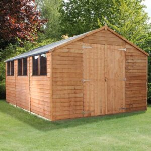 10 Ft. W x 15 Ft. D Solid Wood Garden Shed WFX Utility Installation Included: No