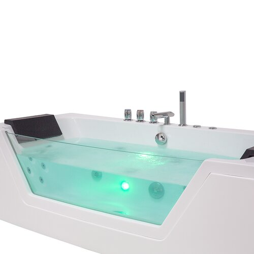 1740 mm x 790 mm Single Ended Whirlpool Bathtub with 10 jets Belfry Bathroom