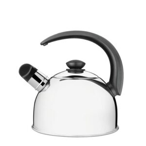 2.1 L Stainless Steel Whistling Stovetop Kettle Tramontina Colour: Steel