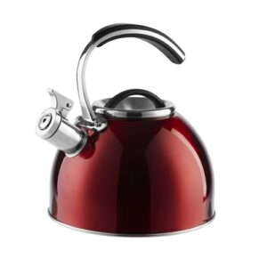 3L Stainless Steel Stovetop Kettle Morphy Richards Colour: Red