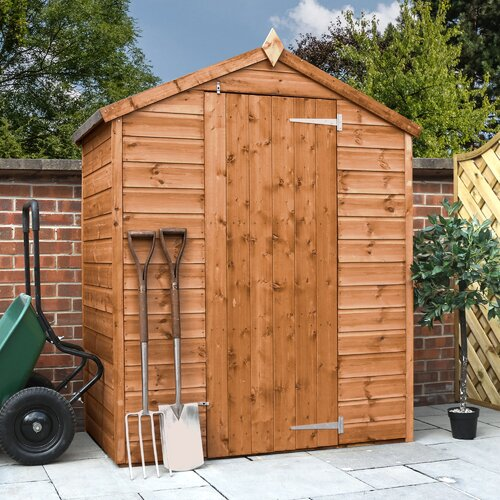 5 ft. W x 3 ft. W Solid Wood Garden Shed WFX Utility Installation Included: Yes