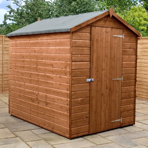 5 ft. x 7 ft. Solid Wood Garden Shed WFX Utility Installation Included: Yes