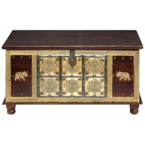 Agridaki Kay Coffee Table with Storage Bay Isle Home