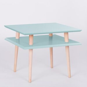 Alison Coffee Table Fjørde & Co Top Finish: Light Turquoise