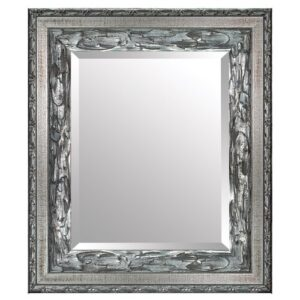 Angeline Helene Full Length Mirror Rosalind Wheeler Size: 80cm H x 60cm W, Finish: Silver, Mirror: Without facets