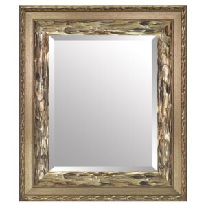 Angeline Helene Full Length Mirror Rosalind Wheeler Size: 91cm H x 71cm W, Finish: Gold, Mirror: Without facets