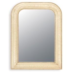 Arch/Crowned Mirror ClassicLiving Finish: Ivory