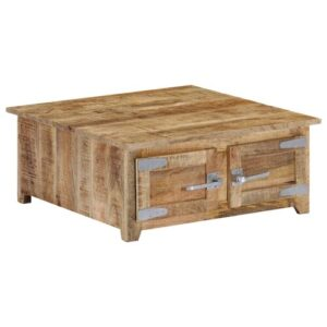 Arnulfo Coffee Table with Storage Williston Forge