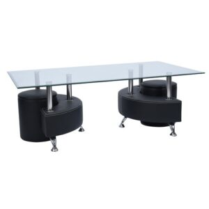 Ascencio Coffee Table Metro Lane Colour (Table Base): Black