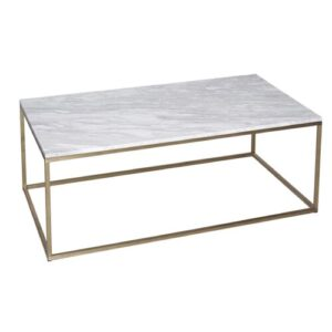 Astra Coffee Table Wrought Studio Base Finish: Brass