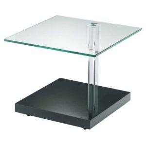 Bancroft Coffee Table Wade Logan Colour (Table Base): High-Gloss Anthracite
