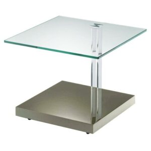 Bancroft Coffee Table Wade Logan Colour (Table Base): High-Gloss Taupe