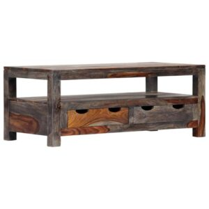 Barnabas Coffee Table with Storage Union Rustic