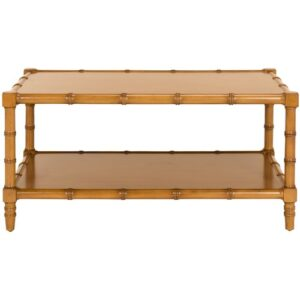 Bawtry Coffee Table Bay Isle Home Colour: Brown