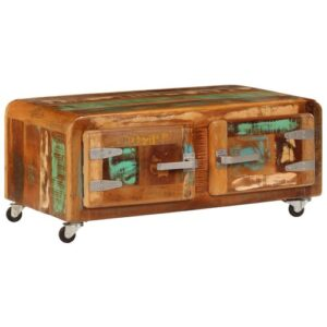 Carterville Coffee Table with Storage Williston Forge