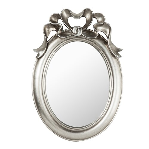 Cavanagh Mirror Astoria Grand Size: 62cm H x 43cm W x 5cm D, Finish: Silver