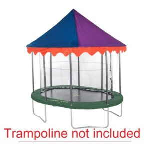 Circus Trampoline Canopy JumpKing Size: 274.32cm W x 396.24cm D