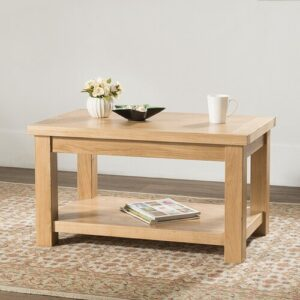 Coffee Table Gracie Oaks Size: 50cm H x 90cm W x 55cm D