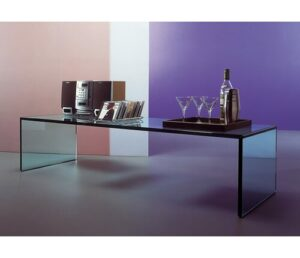 Coffee Table Wade Logan Finish: Extra Clear Glass
