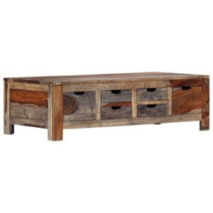 Conan Coffee Table with Storage Union Rustic
